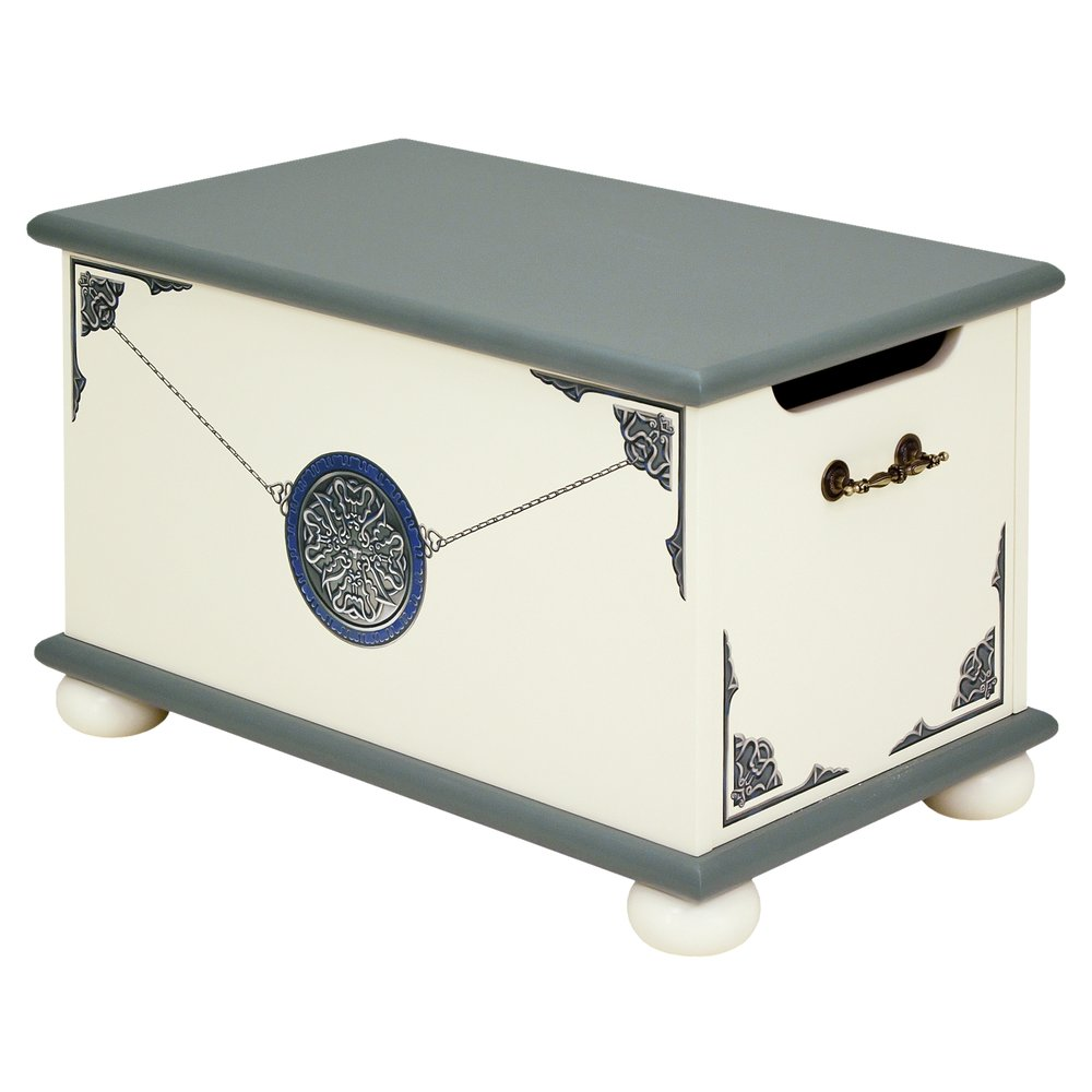 Grey Children's Toy Box | Toy Boxes | Albion Collection | Woodright Home UK