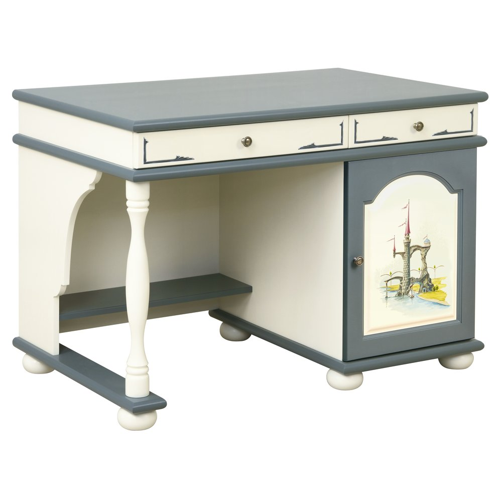 Children's Grey Small Desk | Children's Tables & Chairs | Albion Collection | Woodright Home UK