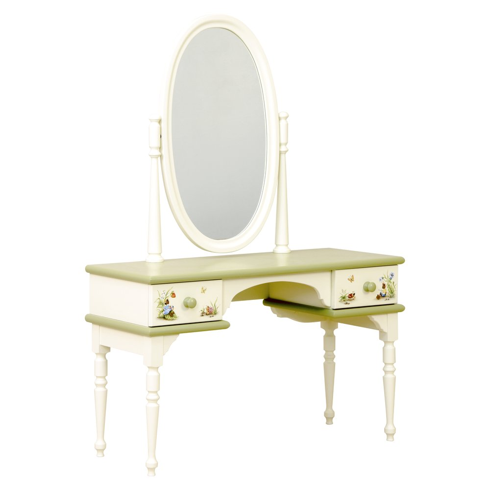 Green Childrens Dressing Table | Children's Tables & Chairs | Ants' Village Collection | Woodright Home UK