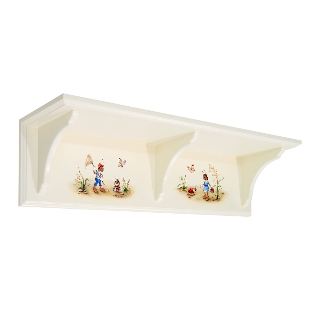 Magical Land Themed Children's Wall Shelf | Children's Storage | Ants' Village Collection | Woodright Home UK