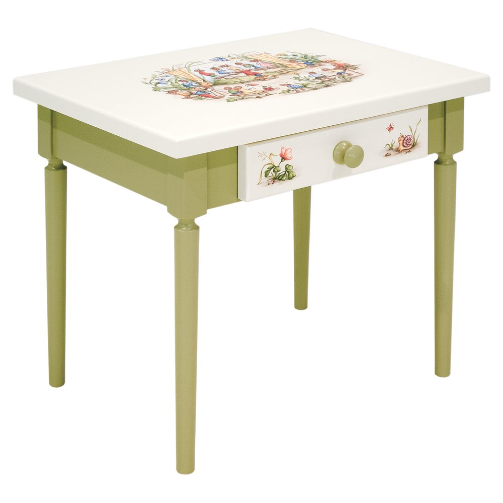 Toddler's Green Table | Children's Tables & Chairs | Ants' Village Collection | Woodright Home UK