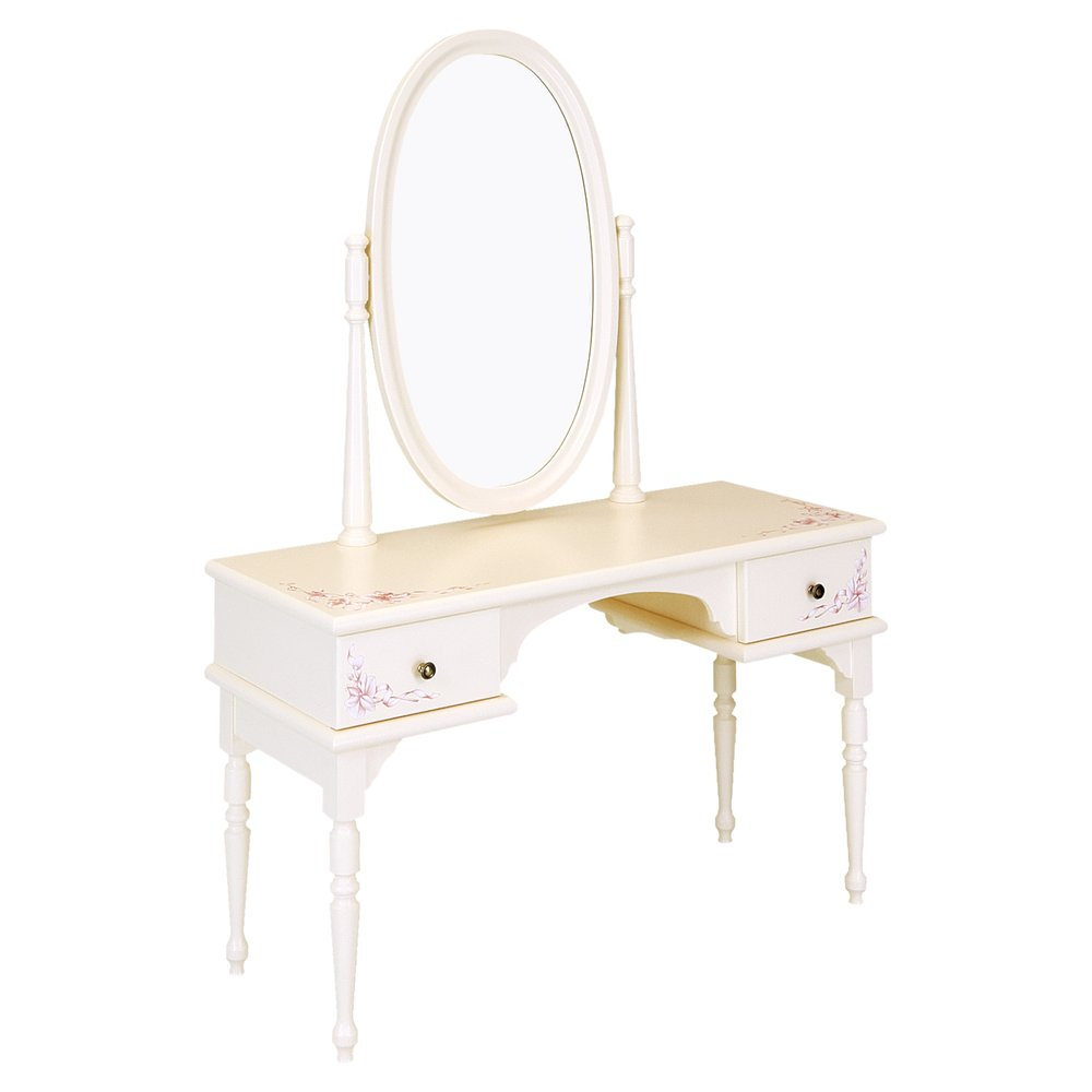 Light Pink Children's Dressing Table | Children's Tables & Chairs | Ballet Collection | Woodright Home UK