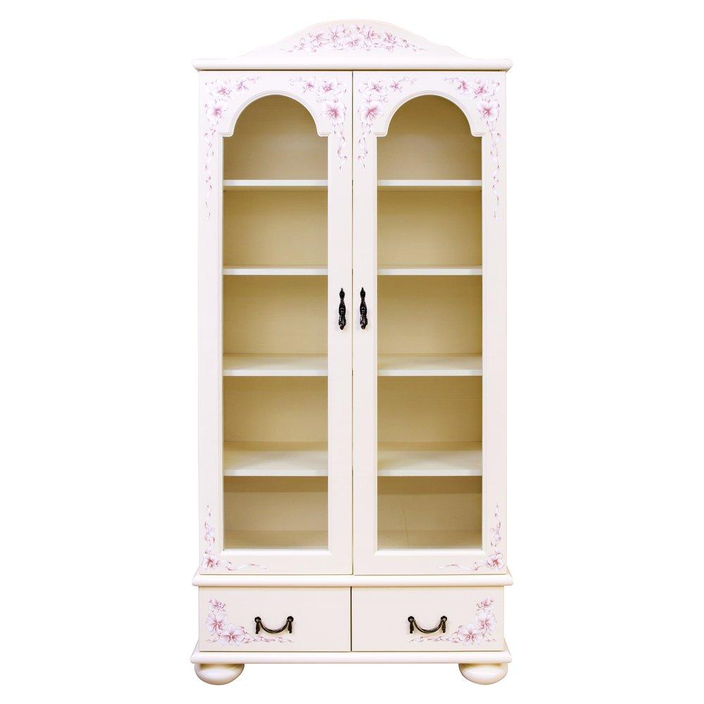 Girl's Light Pink Glazed Bookcase | Children's Storage | Ballet Collection | Woodright Home UK