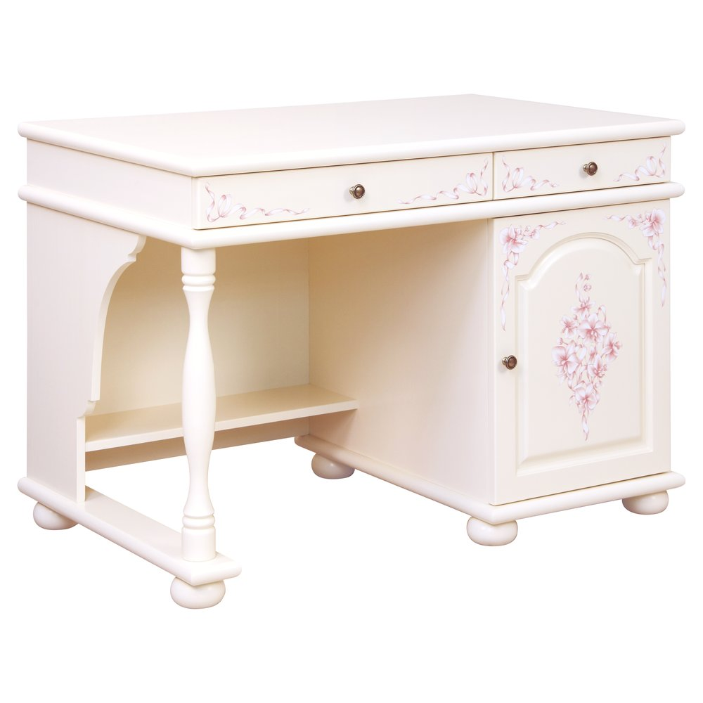 Light Pink Children's Small Desk | Children's Tables & Chairs | Ballet Collection | Woodright Home UK