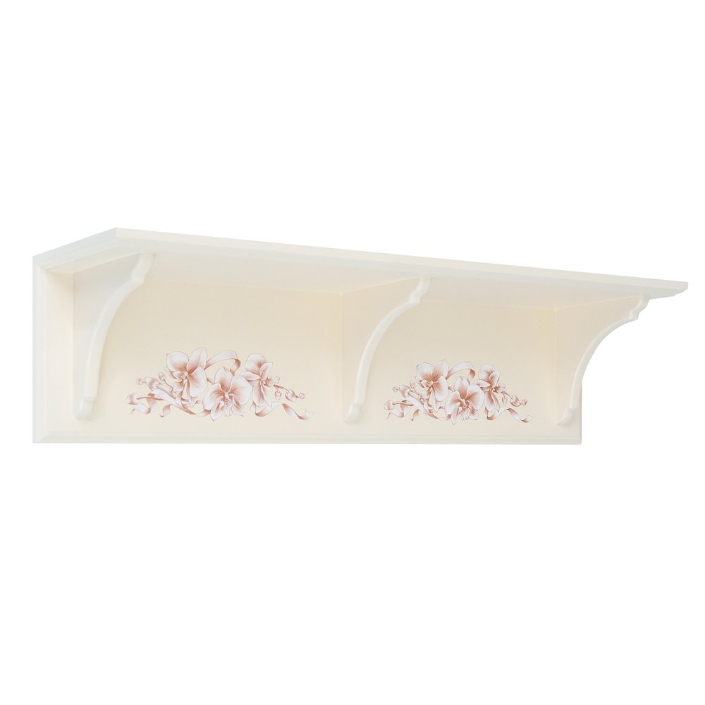 Light Pink Wall Shelf | Children's Storage | Ballet Collection | Woodright Home UK