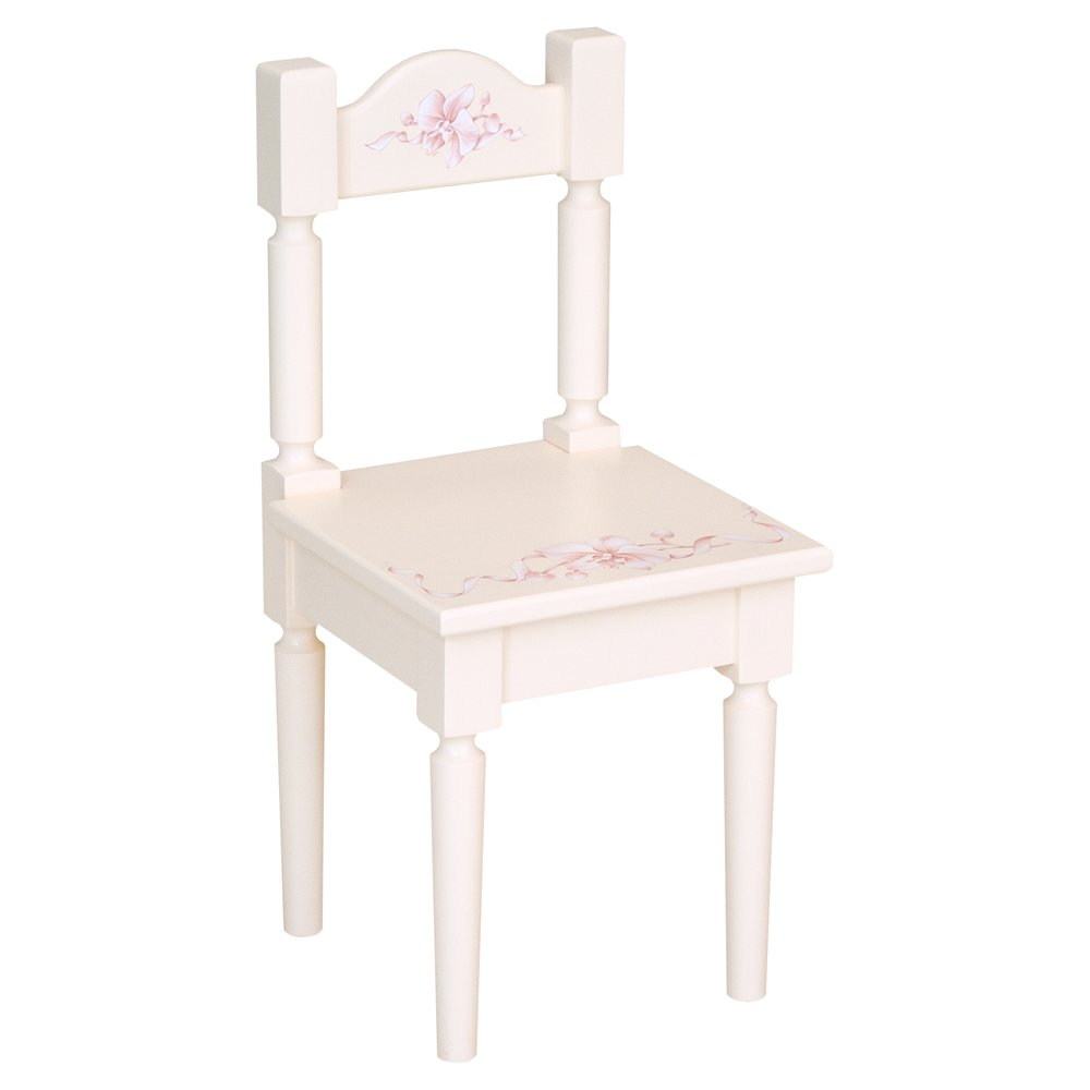 Light Pink Children's Chair | Children's Tables & Chairs | Ballet Collection | Woodright Home UK