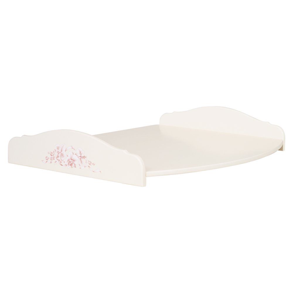 Light Pink Changing Table Top | Nursery Furniture | Ballet Collection | Woodright Home UK