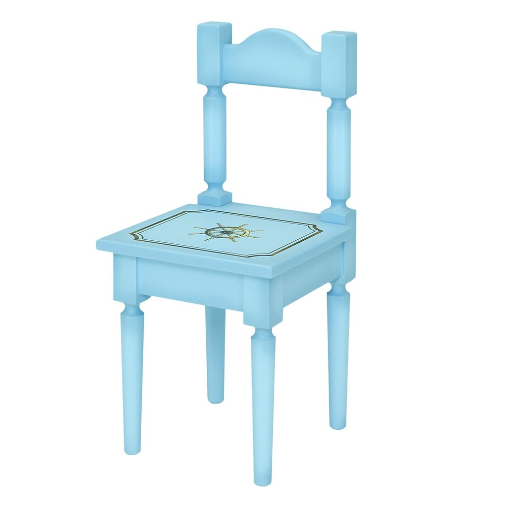 Blue Children's Chair | Children's Tables & Chairs | Brigantine (blue) Collection | Woodright Home UK