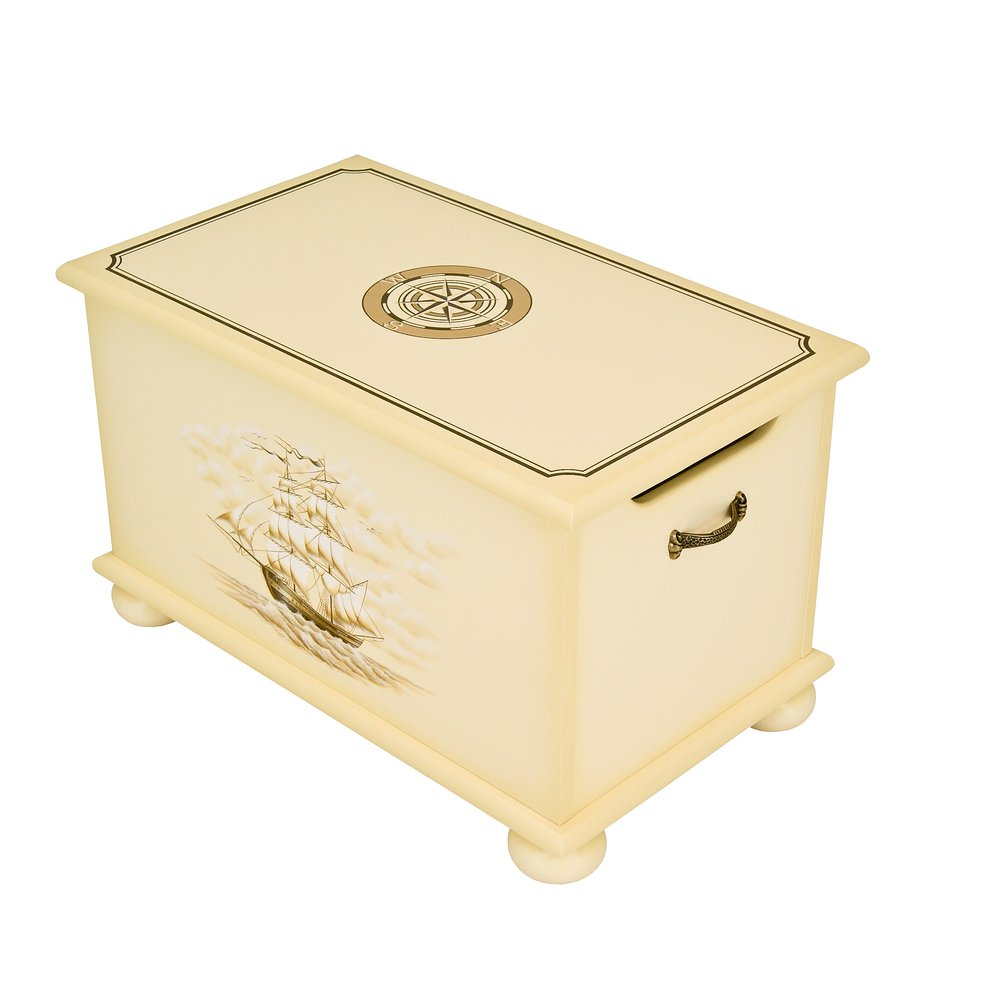 Ivory Toy Box - Brigantine (ivory) Collection