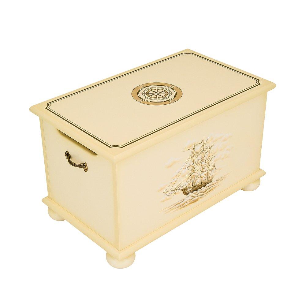 Ivory Toy Box - Brigantine (ivory) Collection