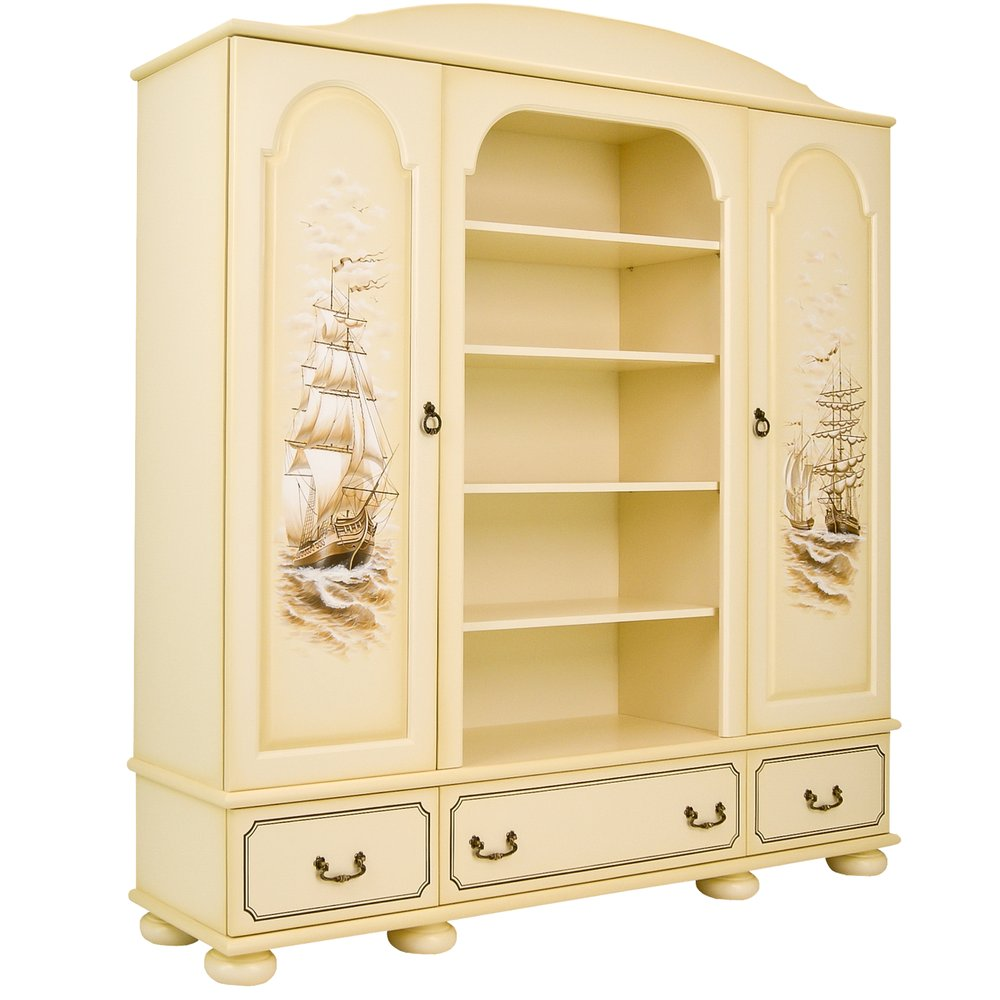 Kids Ivory Combination Wardrobe - Brigantine (ivory) Collection