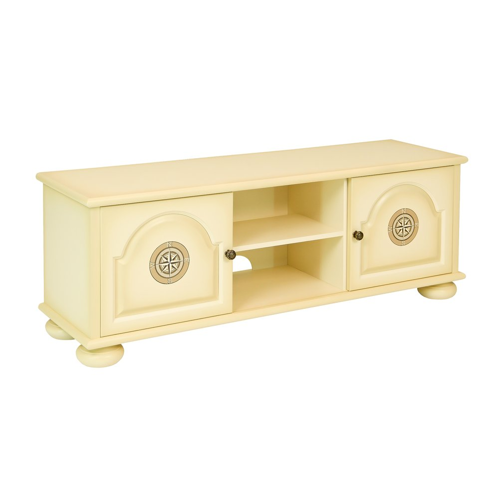 Ivory Children's TV Stand - Brigantine (ivory) Collection