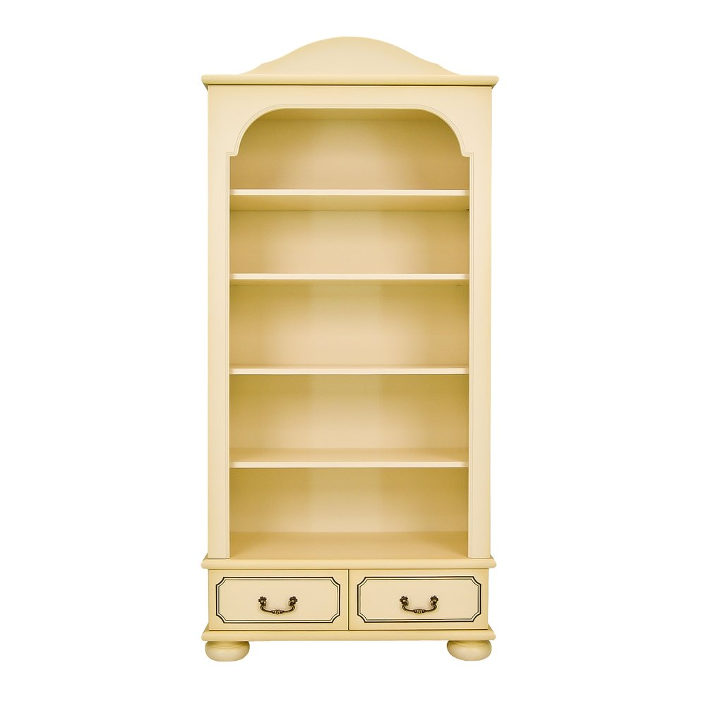 Kids Ivory Bookcase with Drawers - Brigantine (ivory) Collection