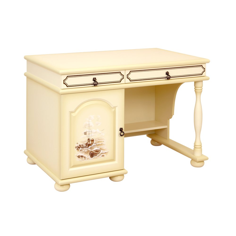 Kids Ivory Small Desk - Brigantine (ivory) Collection