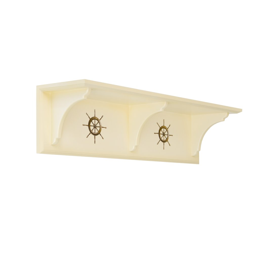 Ivory Children's Wall Shelf - Brigantine (ivory) Collection