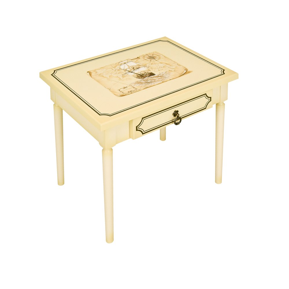 Ivory Children's Table - Brigantine (ivory) Collection