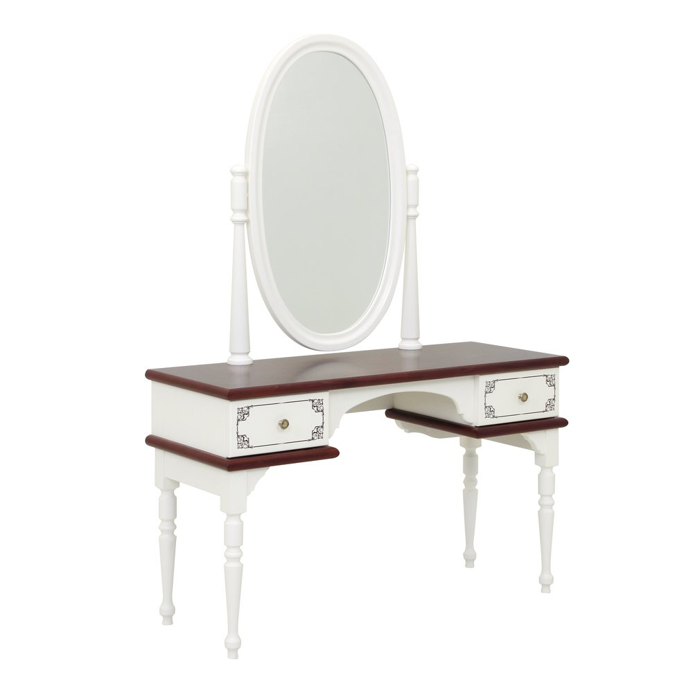 Dark Wood Children's Dressing Table | Children's Tables & Chairs | Fantasy Kingdom Collection | Woodright Home UK
