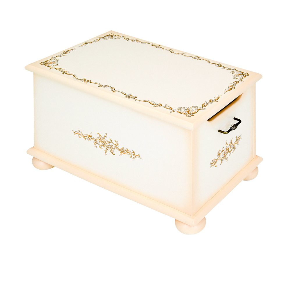 Cream Toy Box | Toy Boxes | Infanta Collection | Woodright Home UK