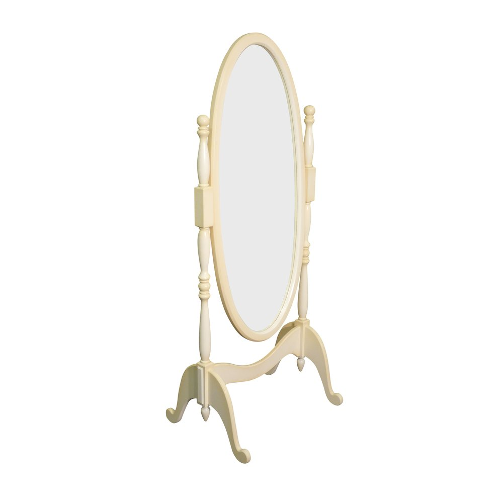 Cream Floor Mirror | Mirrors | Infanta Collection | Woodright Home UK