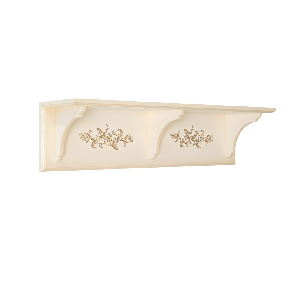 Cream Children's Wall Shelf | Children's Storage | Infanta Collection | Woodright Home UK