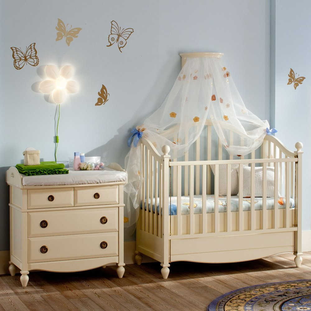 Luxury Nursery Furniture with Hand-Painted Artwork - Woodright Home UK