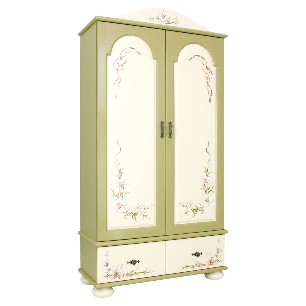 Olive Children's Wardrobe | Children's Wardrobes | Royal Lilies Collection | Woodright Home UK