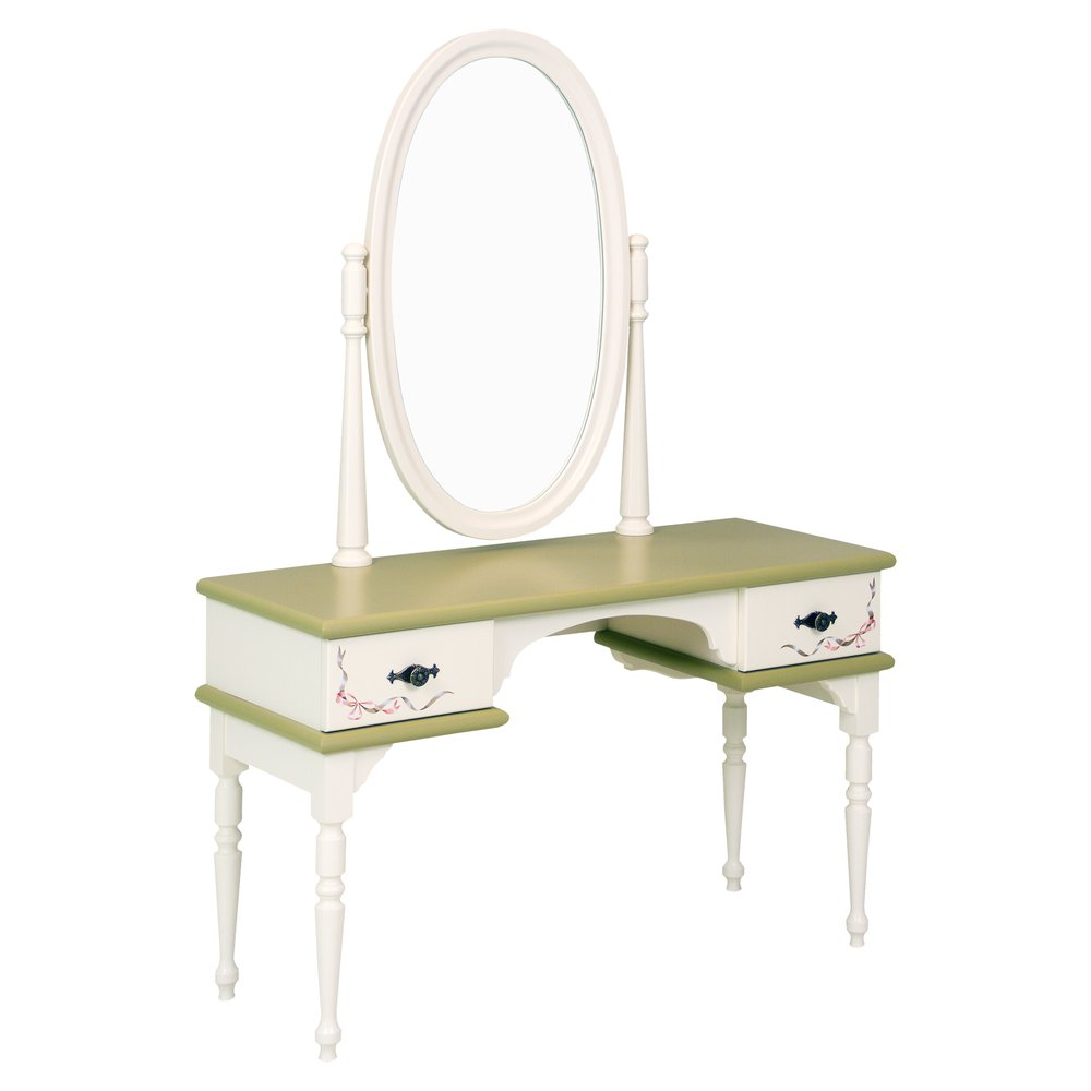 Olive Children's Dressing Table | Children's Tables & Chairs | Royal Lilies Collection | Woodright Home UK