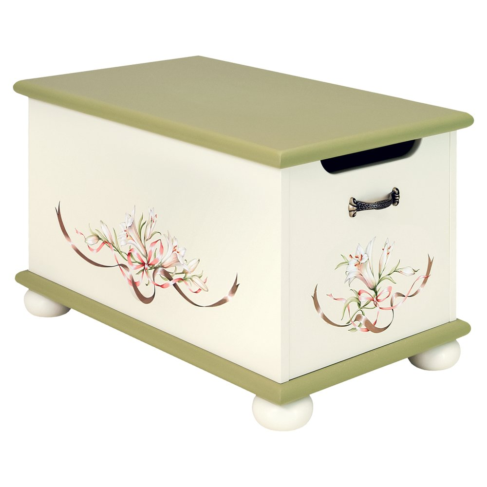 Olive Toy Box | Toy Boxes | Royal Lilies Collection | Woodright Home UK