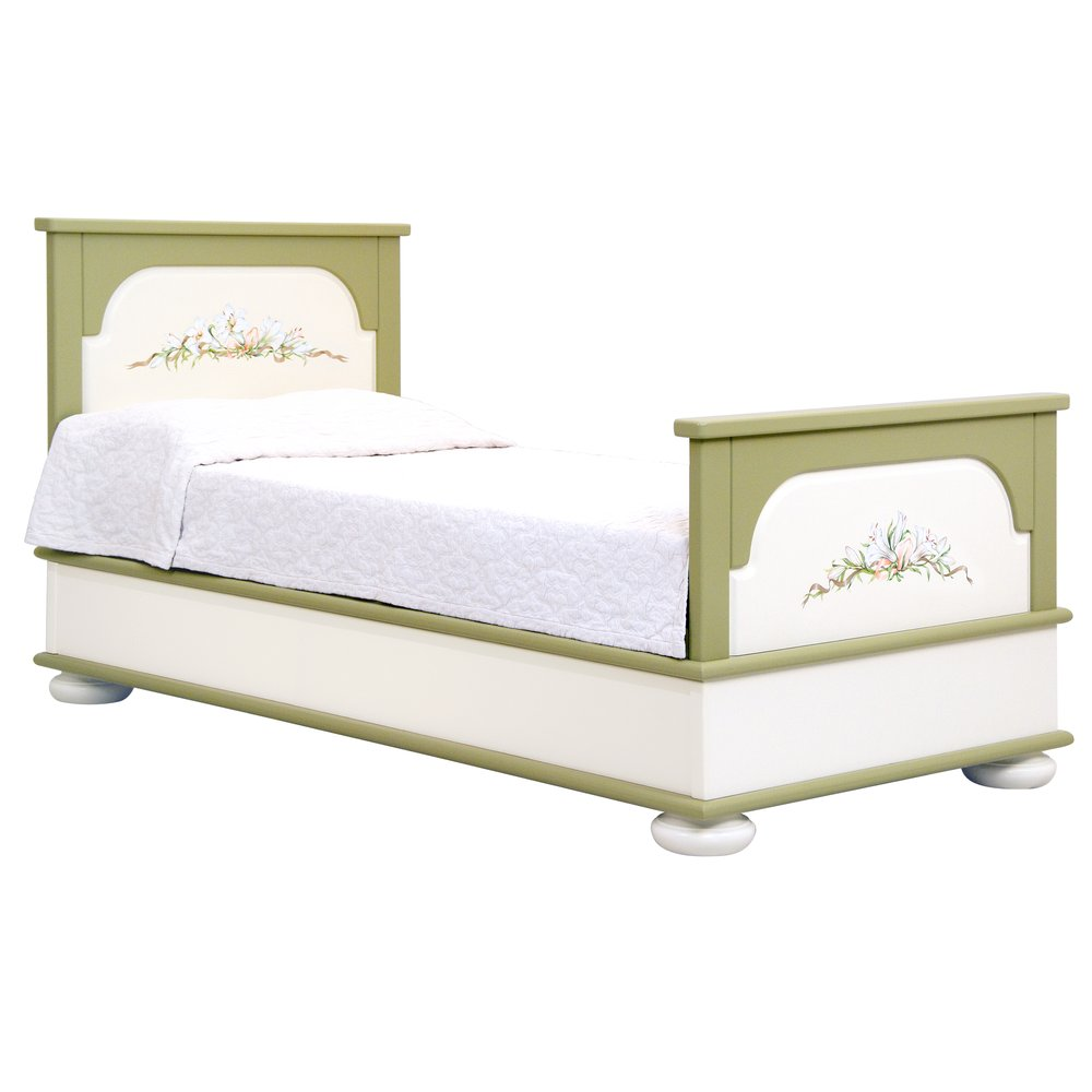 Olive Children's Single Bed | Children's Beds | Royal Lilies Collection | Woodright Home UK