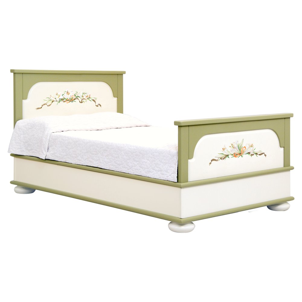 Olive Small Double Bed | Children's Beds | Royal Lilies Collection | Woodright Home UK