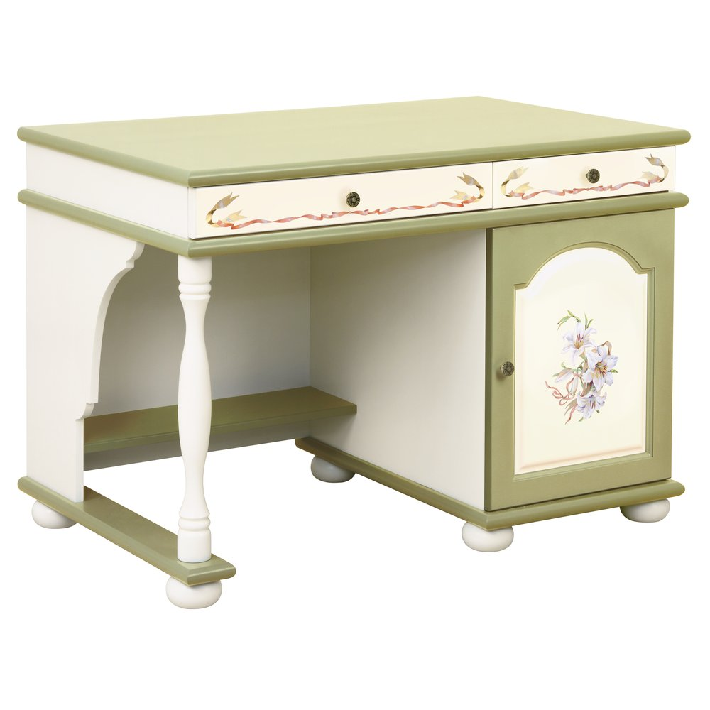 Olive Children's Small Desk | Children's Tables & Chairs | Royal Lilies Collection | Woodright Home UK