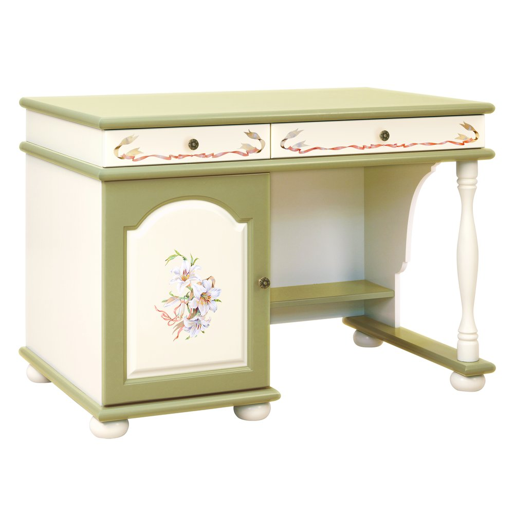 Kids Olive Small Desk | Children's Tables & Chairs | Royal Lilies Collection | Woodright Home UK