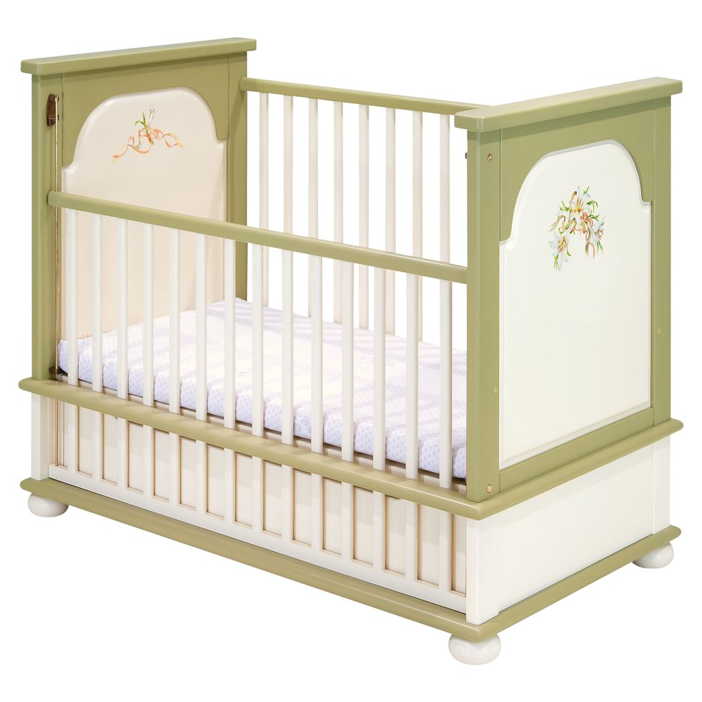 Olive Cot Bed | Nursery Furniture | Royal Lilies Collection | Woodright Home UK