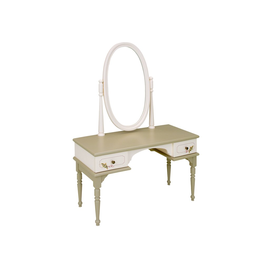 Light Olive Dressing Table | Children's Tables & Chairs | Rural Scenery Collection | Woodright Home UK