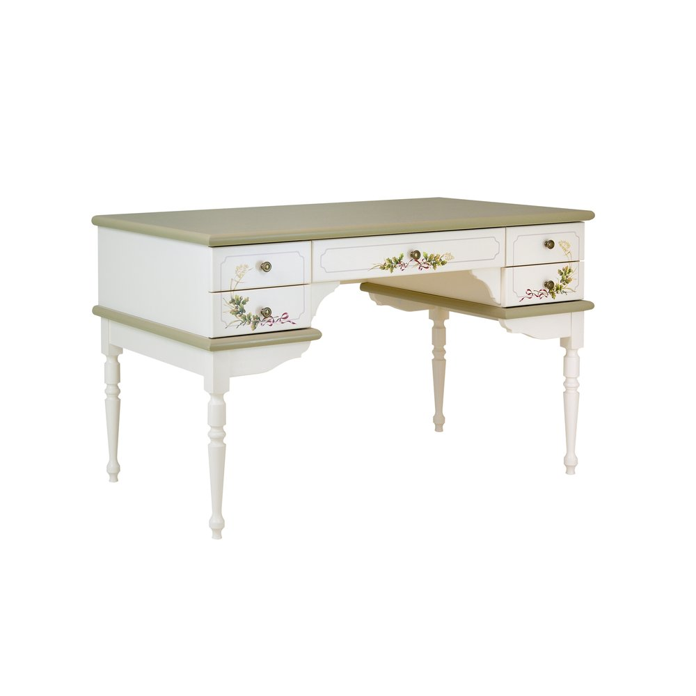 Light Olive Writing Table | Children's Tables & Chairs | Rural Scenery Collection | Woodright Home UK