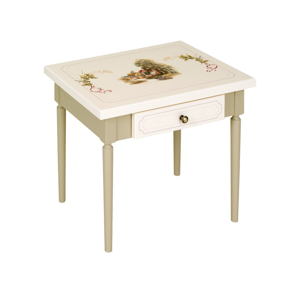 Light Olive Children's Table | Children's Tables & Chairs | Rural Scenery Collection | Woodright Home UK