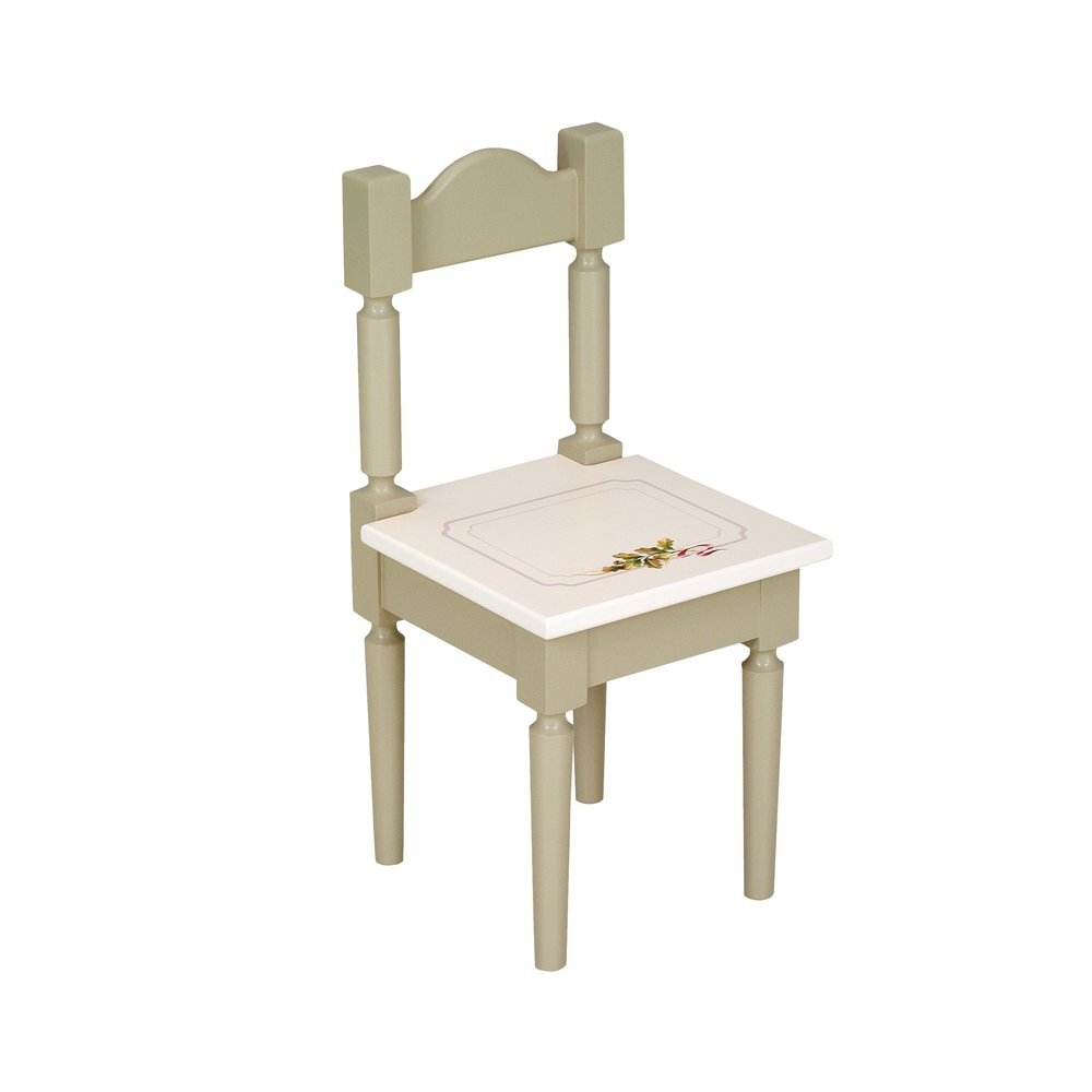 Light Olive Children's Chair | Children's Tables & Chairs | Rural Scenery Collection | Woodright Home UK