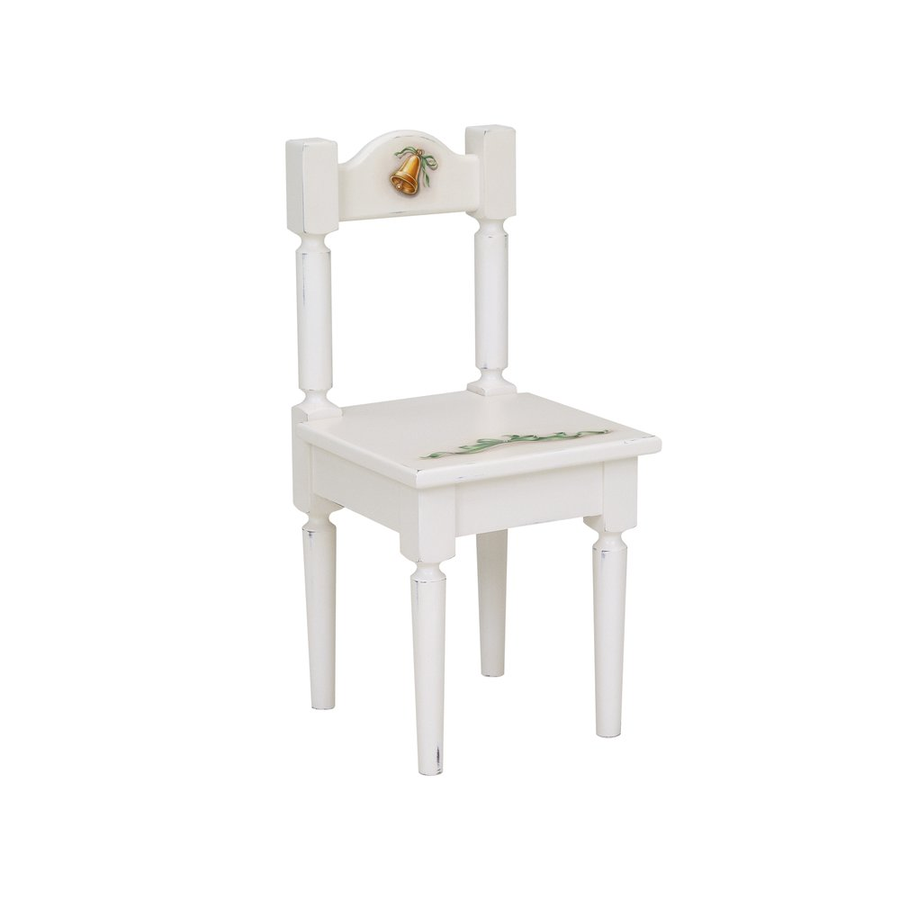 Soft White Children's Chair | Children's Tables & Chairs | Teddy Bear Collection | Woodright Home UK