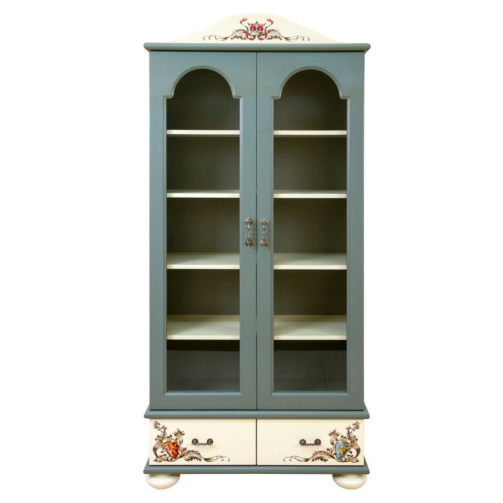 Kids Grey Glazed Bookcase | Children's Storage | Templars Collection | Woodright Home UK