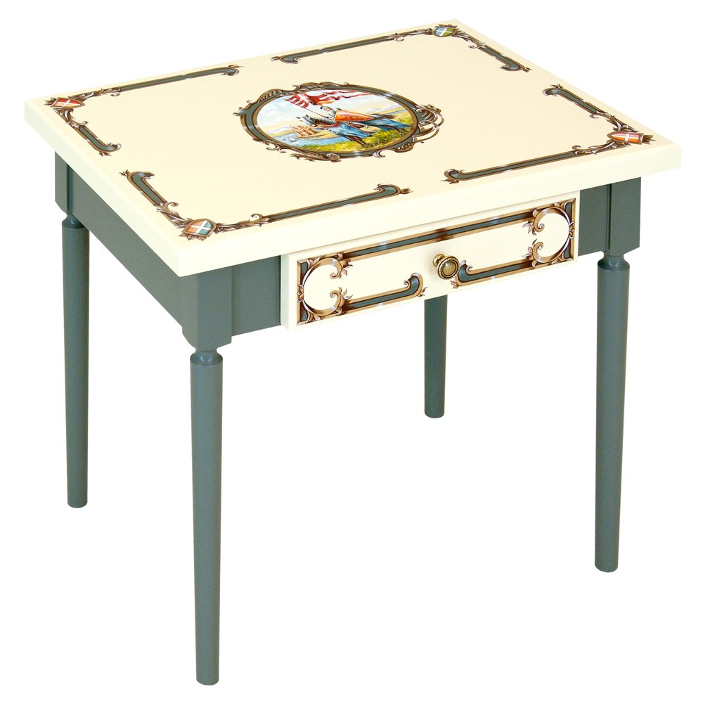 Grey Childrens Table | Children's Tables & Chairs | Templars Collection | Woodright Home UK