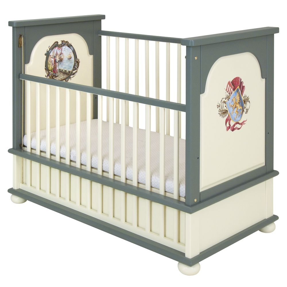 Grey Cotbed | Nursery Furniture | Templars Collection | Woodright Home UK