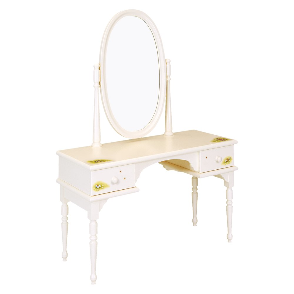 Kids Light Cream Dressing Table | Children's Tables & Chairs | Tiggy-Winkle Collection | Woodright Home UK