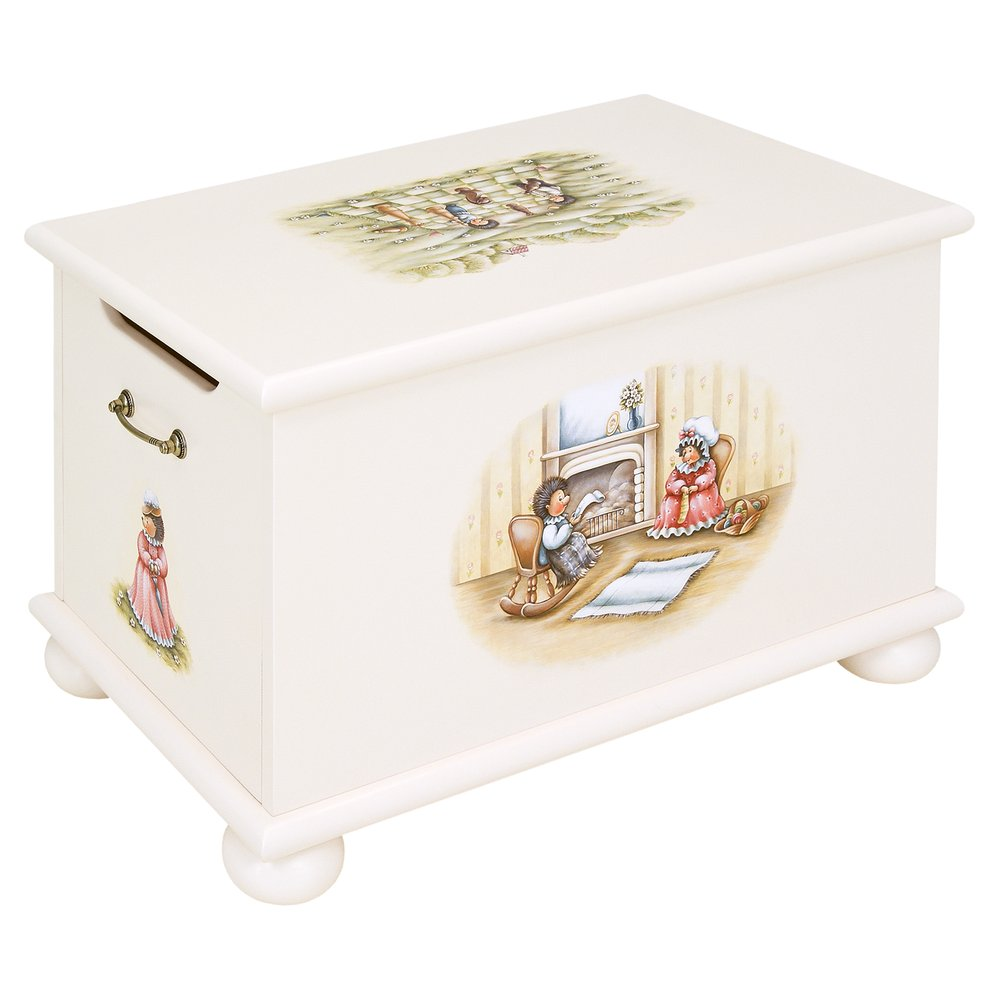 Light Cream Toy Box | Toy Boxes | Tiggy-Winkle Collection | Woodright Home UK