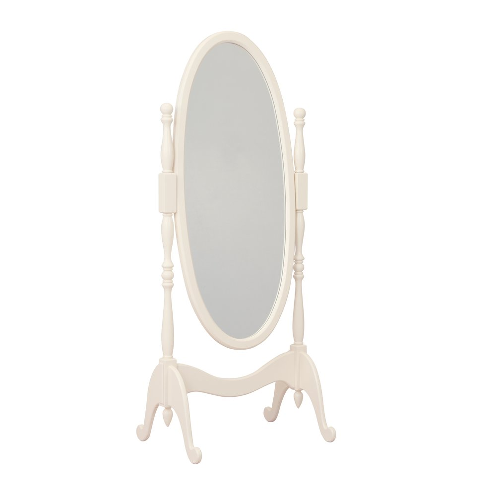 Light Cream Floor Mirror | Mirrors | Tiggy-Winkle Collection | Woodright Home UK