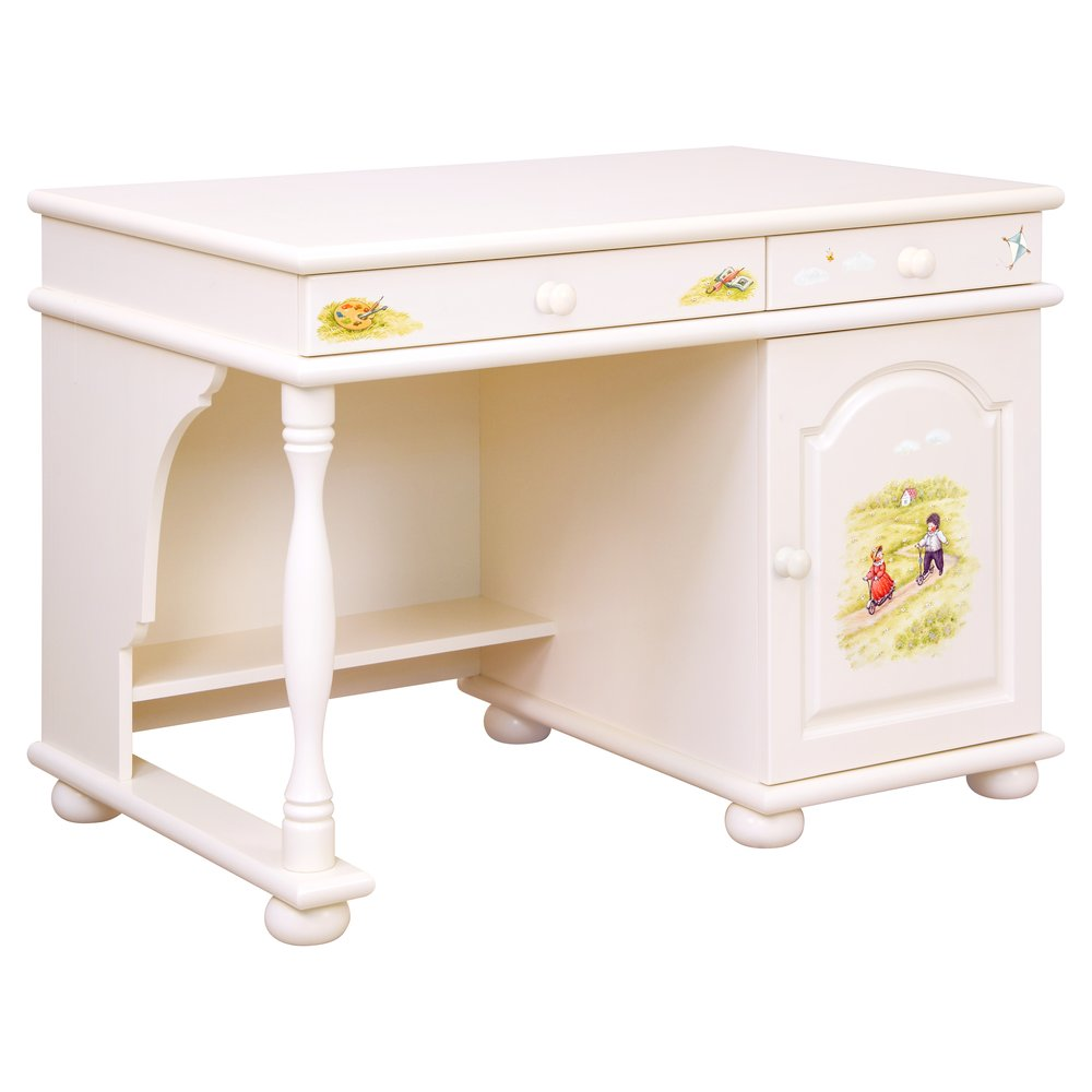 Light Cream Children's Small Desk | Children's Tables & Chairs | Tiggy-Winkle Collection | Woodright Home UK
