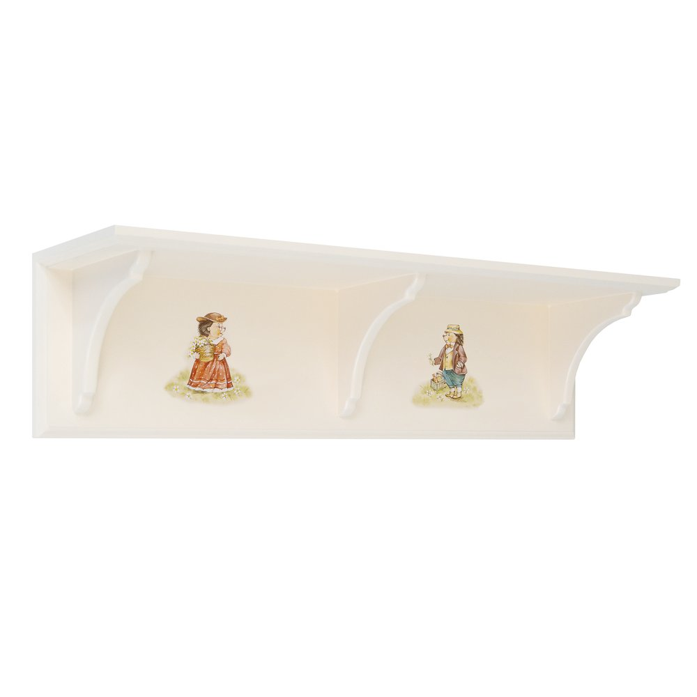 Kids Light Cream Wall Shelf | Children's Storage | Tiggy-Winkle Collection | Woodright Home UK