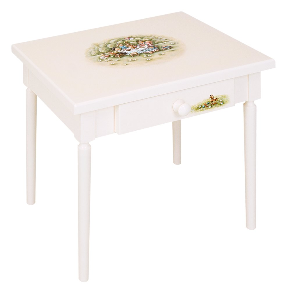 Light Cream Children's Table | Children's Tables & Chairs | Tiggy-Winkle Collection | Woodright Home UK