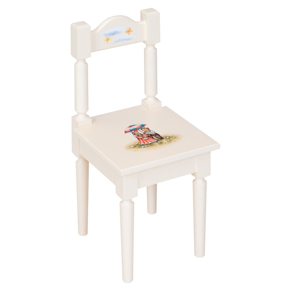 Light Cream Children's Chair | Children's Tables & Chairs | Tiggy-Winkle Collection | Woodright Home UK
