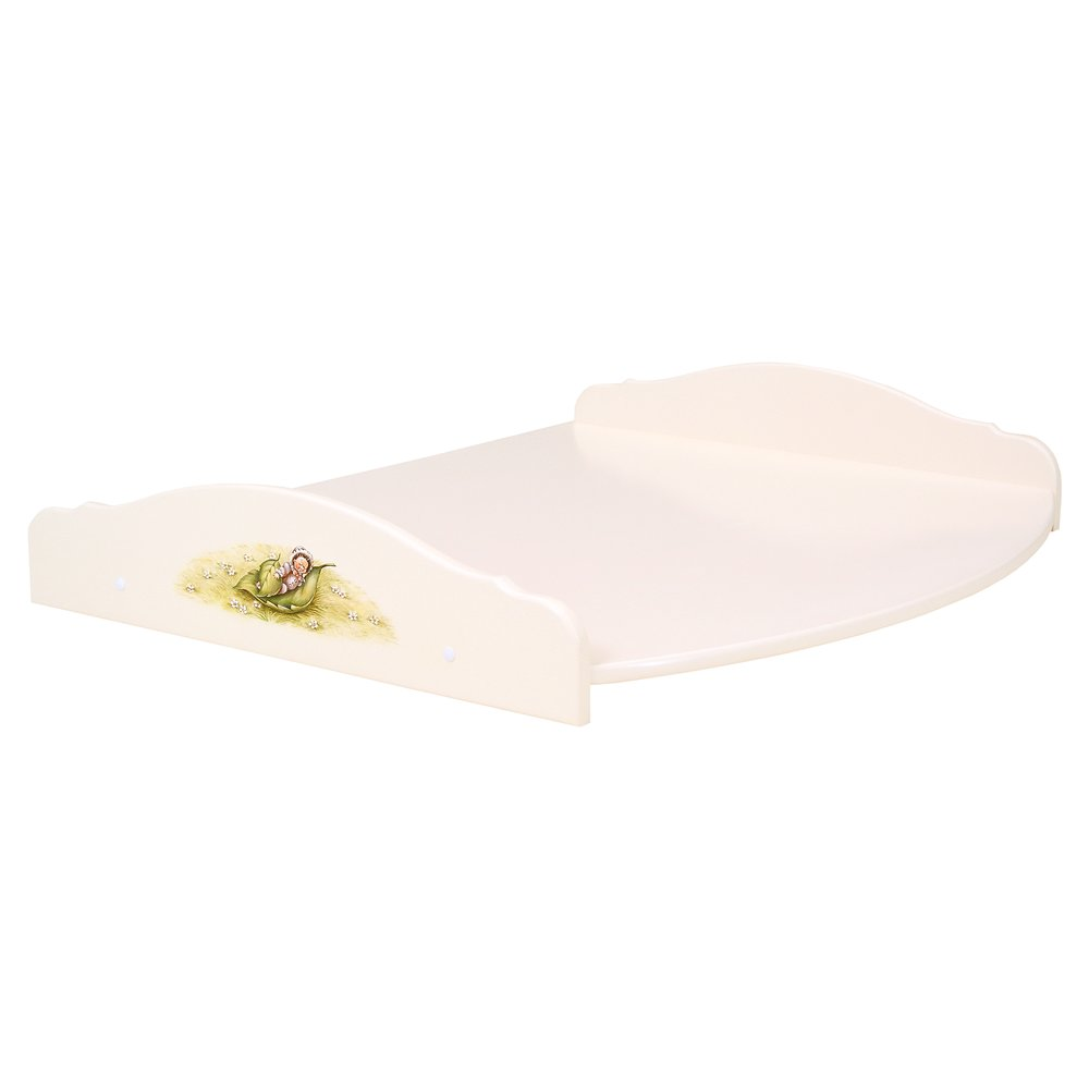 Light Cream Changing Table Top | Nursery Furniture | Tiggy-Winkle Collection | Woodright Home UK